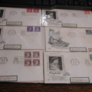 Canada First Day Covers 1954-66 lot of 25
