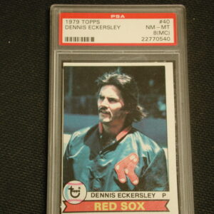 1979 Topps Dennis Eckersley # 40 PSA NM-MT 8 (MC)