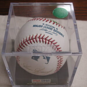Goose Gossage, Whitey Ford, Jim Rice, Luis Tiant, Jim Leyritz Signed Baseball PSA/DNA Certified