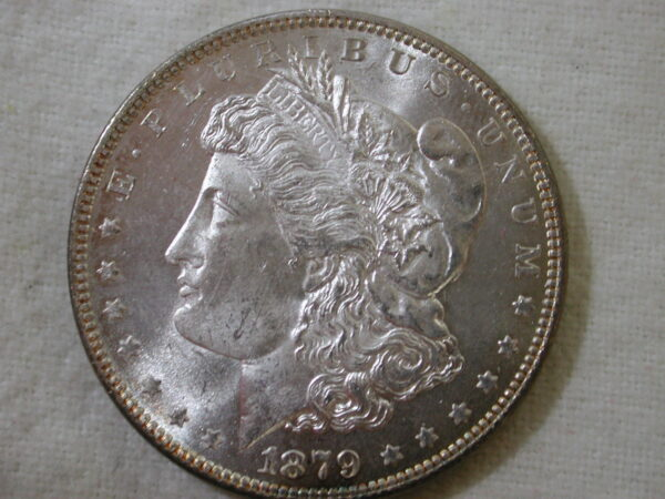 1879 Morgan Silver Dollar Gem Choice Uncirculated