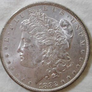 1882-O U.S Morgan Silver Dollar Choice Uncirculated