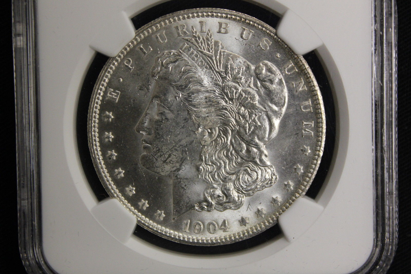 1904-O Morgan Silver Dollar $1 New Certified NGC MS63 Bright White Luster