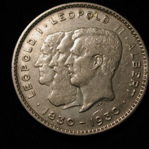 1930 Belgium 10 Francs Very Fine VF Km#99
