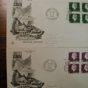 25 Canada First Day Covers all Cached, Pencil addressed 1964-66 Nice clean