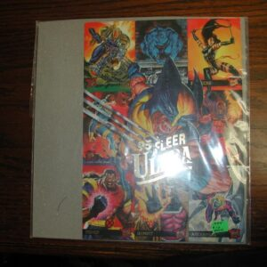 '95 Fleer Ultra X-MEN promotionatl 7 1/2 x 10 1/2 Sheet (1994)