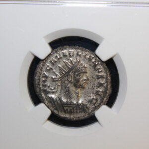Aurelian AD 270-275 Roman Empire BI Aurelianianus NGC XF Women offers wreath