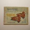 US Department of Interior Scott #RW27* $3 Redhead Ducks 1960, Used & Signed