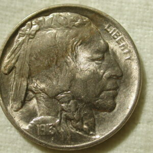 1913 Buffalo Nickel lusterous uncirculated