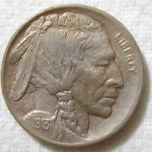 1913-D U.S. Five Cent Buffalo Nickel