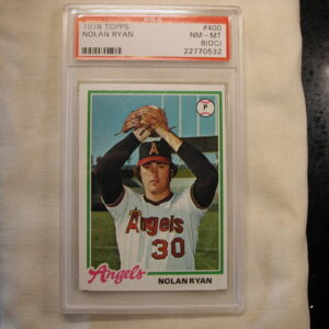 1978 Topps Nolan Ryan #400 PSA NM-MT 8 (OC)