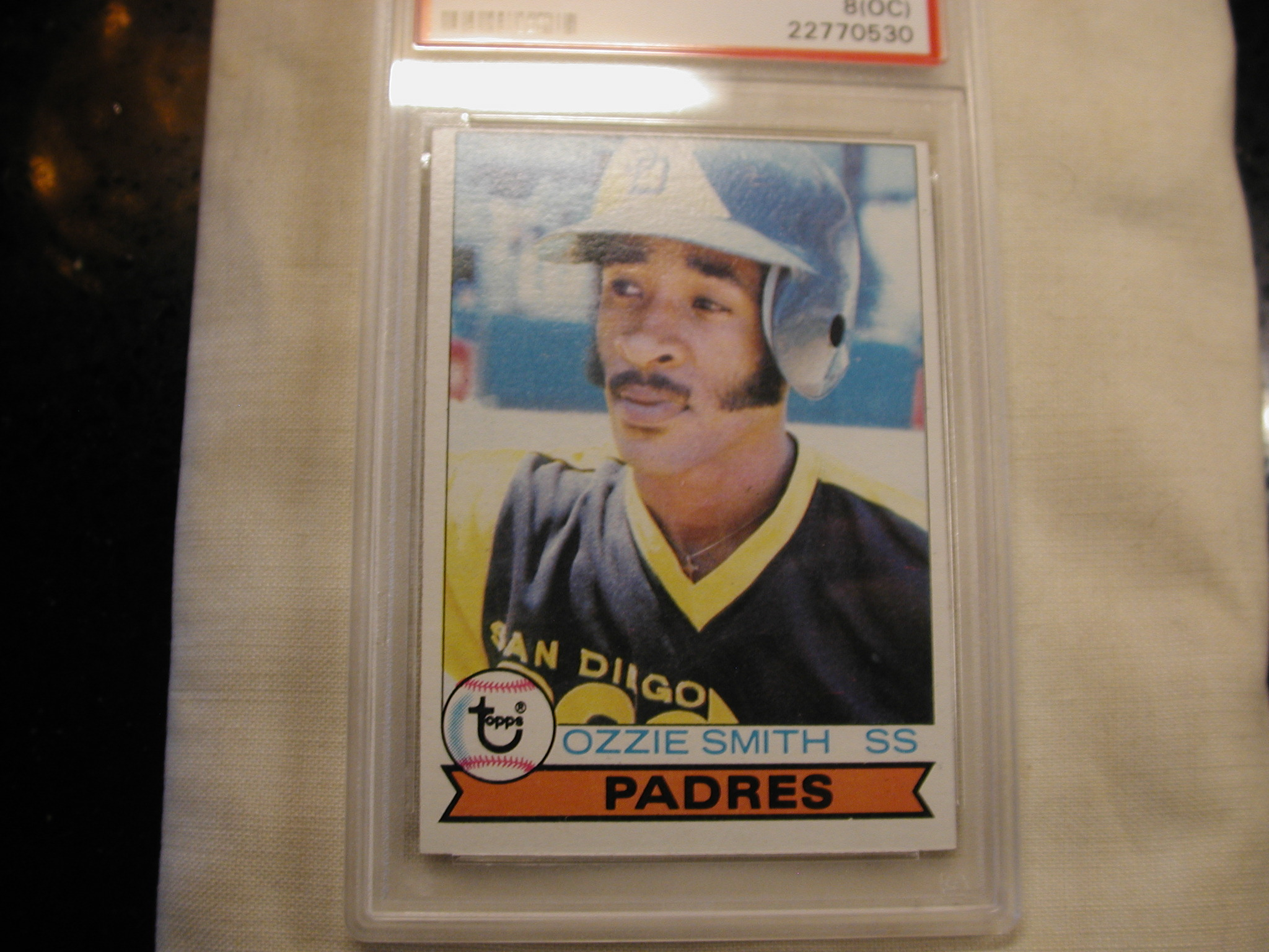 1979 Topps Ozzie Smith Rookie Baseball Card 116 Psa Graded