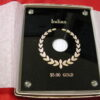 Coin Holder Presentation Case $5 Gold Indian Capital Plastics NEW in box