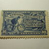 U.S. Scott #E6a - 10 Cent Special Delivery Stamp 1902 /Small Hing Remint Blue