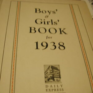 1938 Boys and Girls Book 310pp Rupert Adventures Color illustrations