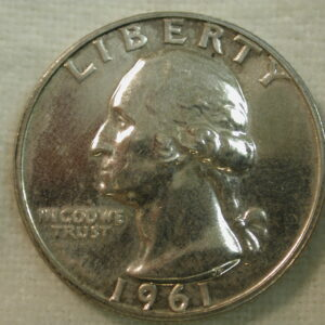 1961 U.S. Washington Quarter Type Proof