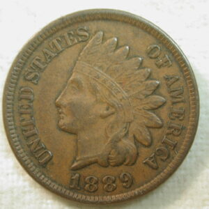 1889 U.S. Indian Head Cent Type Extremely Fine