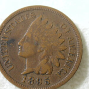 1895 U.S Indian Head Cent Type Extra Fine