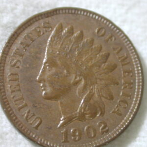 1902 U.S Indian Head Cent Type Extra Fine