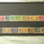 Germany 14 Revenue Stamps Cancelled