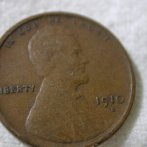 1910-S U.S Lincoln Wheat Cent Type Very Fine