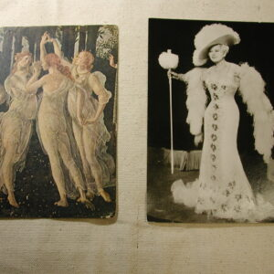 May West MOMA & Spring Botticelli Postcards