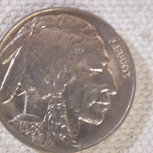 1938-D U.S Buffalo Nickel Uncirculated