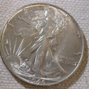 1946 U.S Walking Liberty Half Dollar Uncirculated+