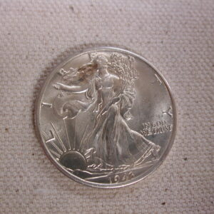1943-D U.S Walking Liberty Half Dollar Choice Uncirculated Creamy Luster