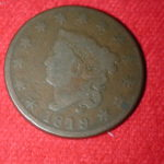 1819 U.S Large Cent (Coronet) Large Date Good
