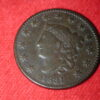 1831 Medium Letters U.S Large Cent Matron Head Type Fine