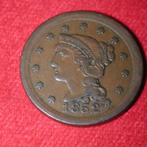 1852 U.S Large Cent Very Fine