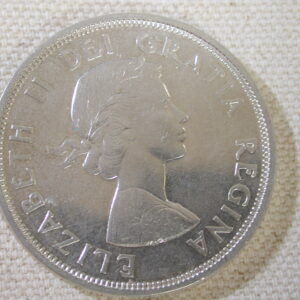 1964 Canada Dollar Select Uncirculated blazing white