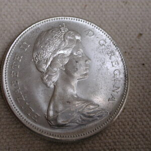 1967 Canada Dollar Select Uncirculated blazing white