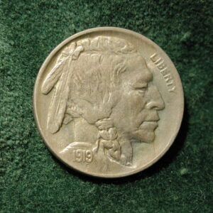 1919 U.S Five-Cent Buffalo Nickel Select Uncirculated +