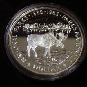 1885-1985 Canada Dollar Proof