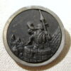 Sentinal of Cracow vintage three dimensional 39mm Button