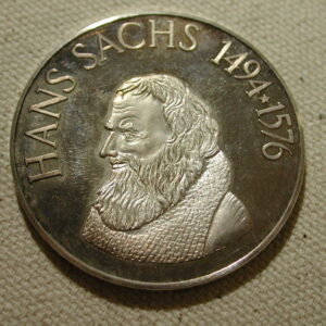 1976 Hans Sachs commemorative coin 42mm