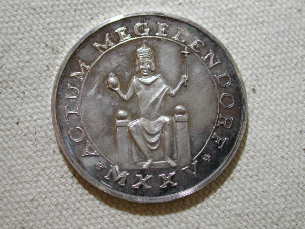 1975 Mogerldorf commemorative coin 36mm silver
