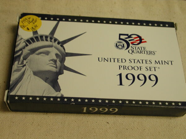 1999 U.S Mint Proof Set 9 piece