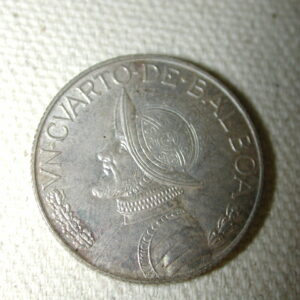 1962 Panama 1/4B K11.2 Uncirculated