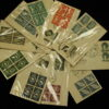 United Nations First Day 1951 and 1952 lot of 10nC1-4 13 15 1,2,5