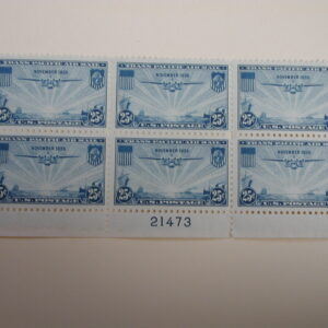 US Scott #C20 – 25c China Clipper Over the Pacific Transpacific Issues #21473 /NH Dist. Gum