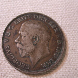 1921 Great Britain 1F K817 Very Fine +