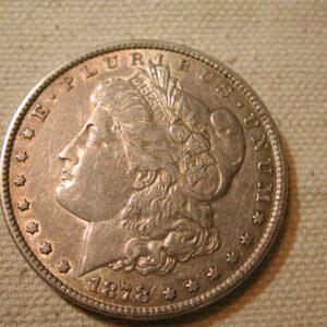 1878 7T/F U.S Morgan Silver Dollar Extra Fine