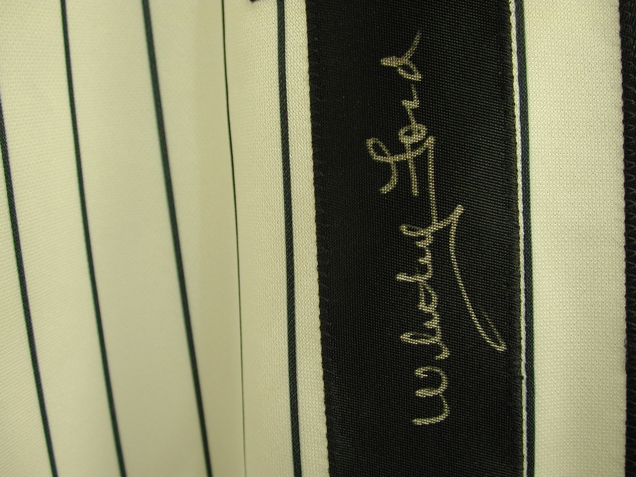 Yankees Whitey Ford #16 Autographed Jersey PSA COA
