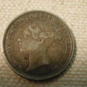 1886 Great Britain 6P K776 Very Fine