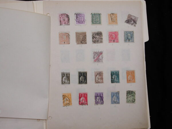 Portugal Collection of 80+ stamps cancelled 1918 - 1930s