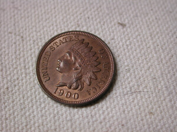 1900 RB U.S Indian head Cent Choice Uncirculated