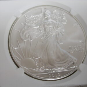 2012 Silver Eagle $1 First Releases MS70 NGC
