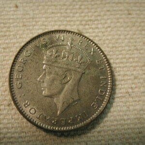 1937 East Africa 50C K30 Uncirculated